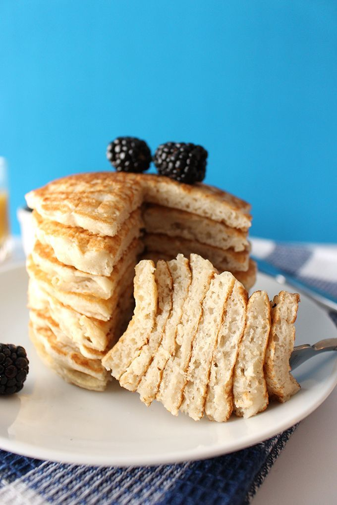 Ever Fluffy Vegan Pancakes These vegan pancakes are SUPER fluffy and SUPER delicious! They are so ridiculously easy to make, you'll never use a pre-made pancake mix again!These vegan pancakes are SUPER fluffy and SUPER delicious! They are so ridiculously easy to make, you'll never use a pre-made pancake mix again!