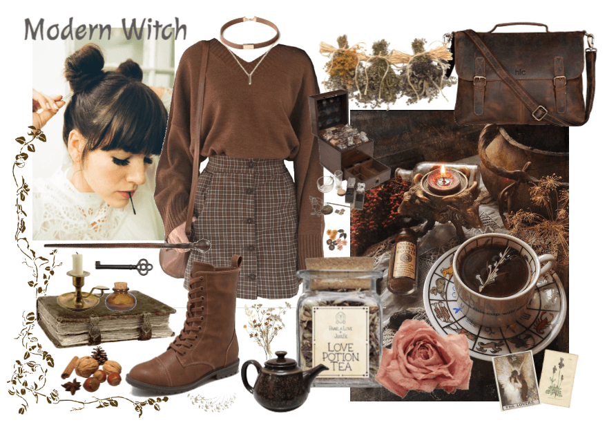 Modern Witch—Earth Tones Outfit | ShopLook