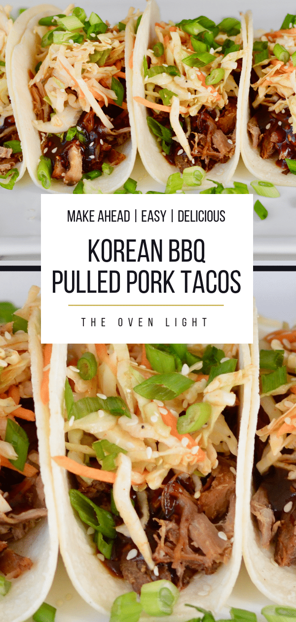 Korean BBQ Tacos with Quick Kimchi