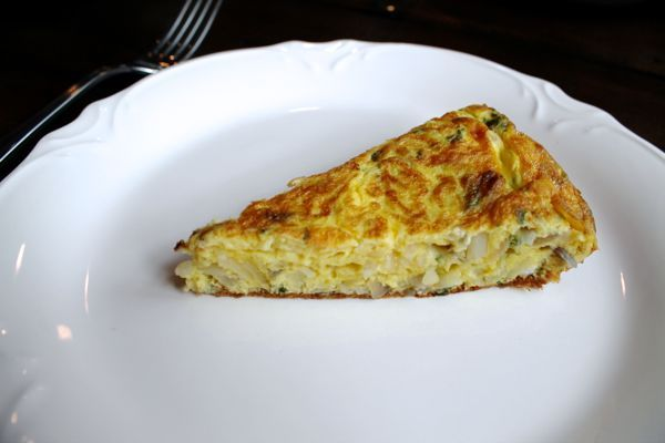 Spanish Omelette with Olive Oils from Spain