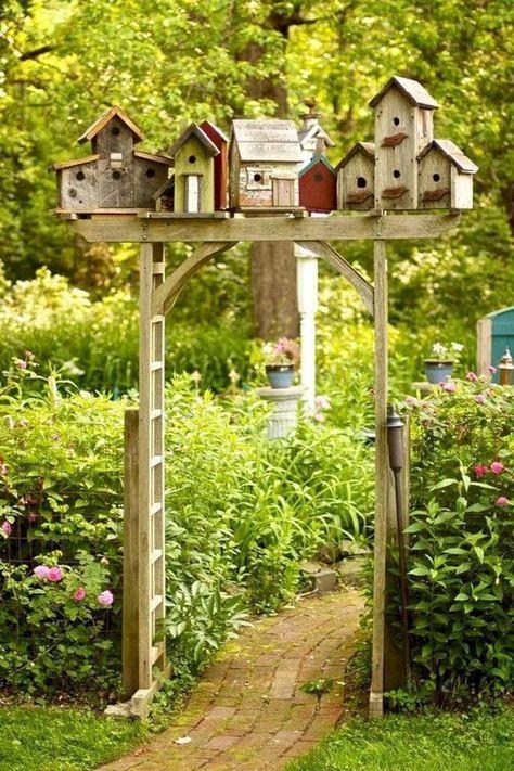 Ausgefallene Gartendeko selber machen-101 Beispiele und Upcycling Ideen #gartengestaltungideen