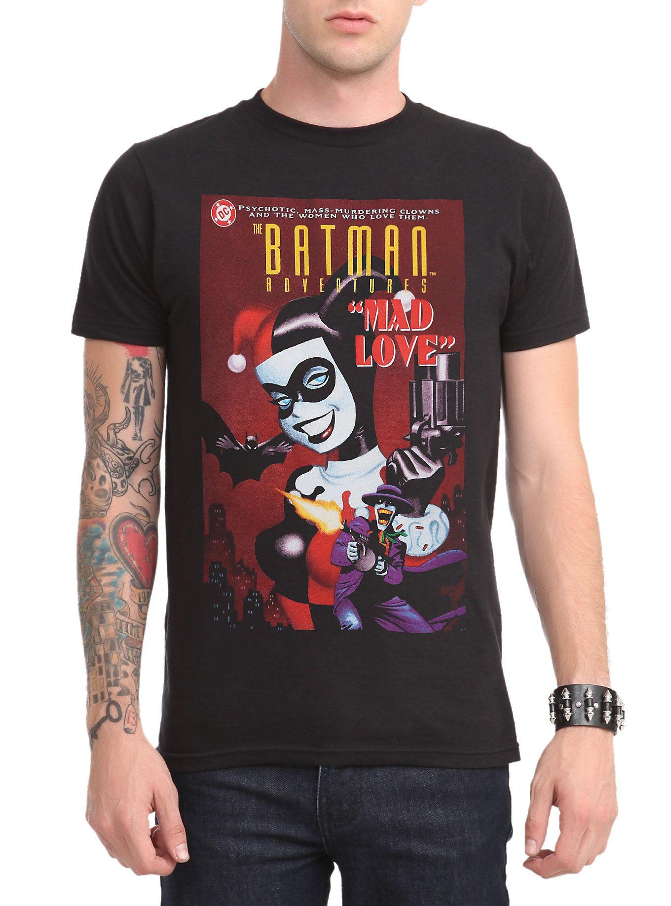 230d87e05136 DC Comics The Batman Adventures: Mad Love T-Shirt | Superhero Stuff ...
