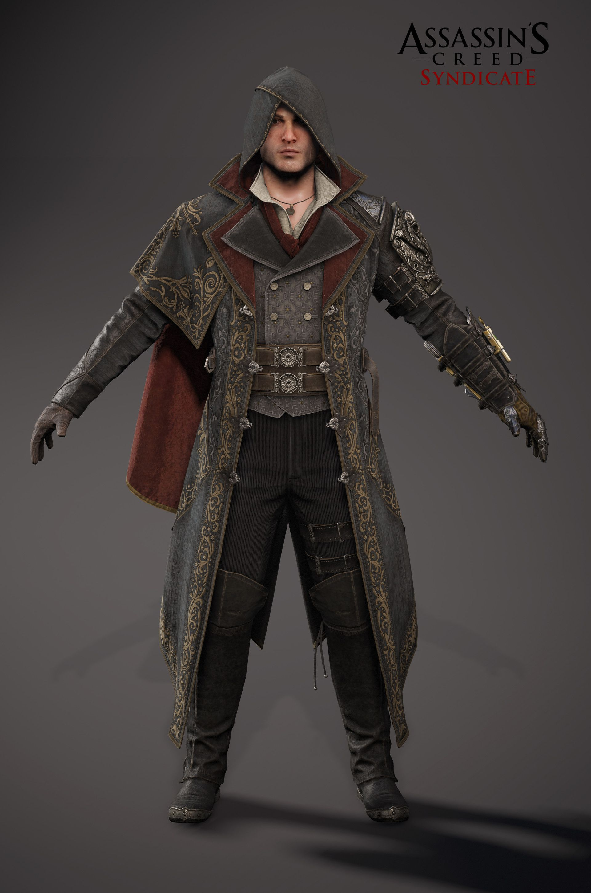 ArtStation - Assassin's Creed Syndicate - Jacob Outfit 07 ...