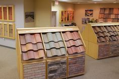 Pin By Marcia Quinnell On Cement Roofing Tiles Flooring Store Design Center Showroom Roof Tiles