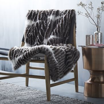 Recliner Sofa Cozy Faux Fur Throws and Sofa Throws