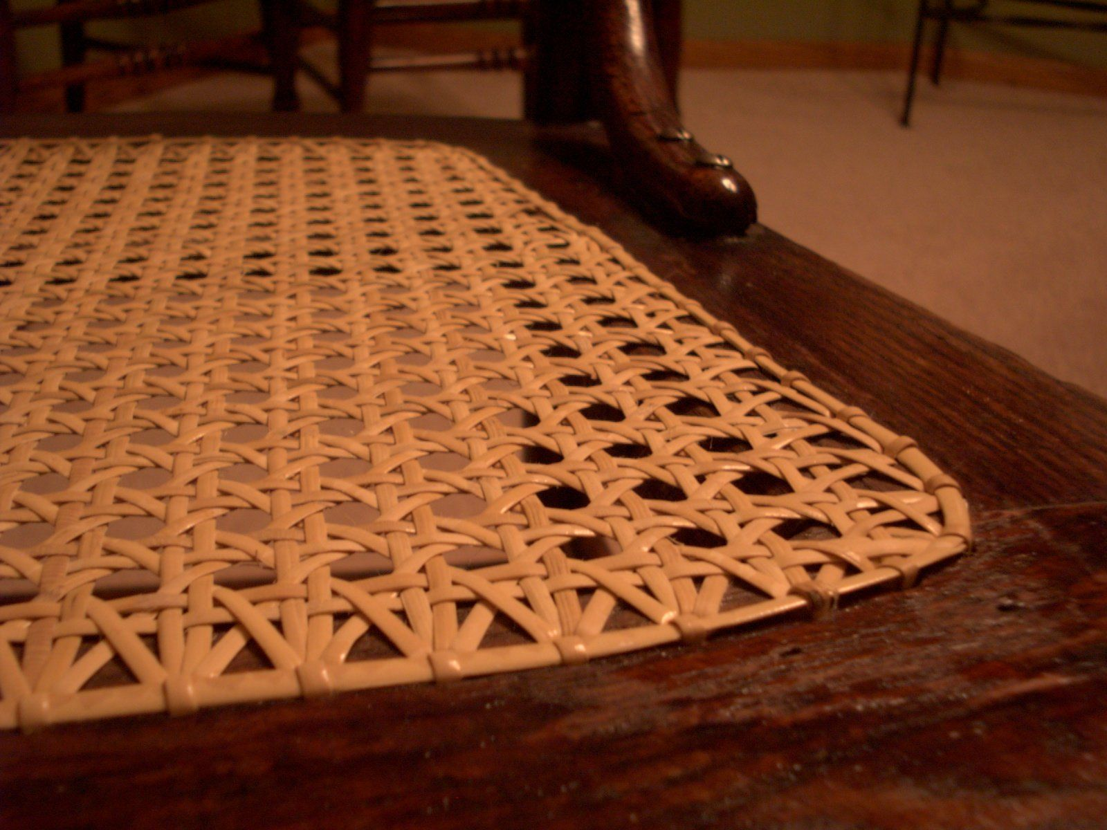 Cannage Rotin Chair Caning Instructions Cannage Cannage Et Rotin