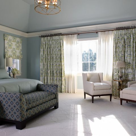 Pin by davis window and door on window treatments blue - Living room window treatments for large windows ...