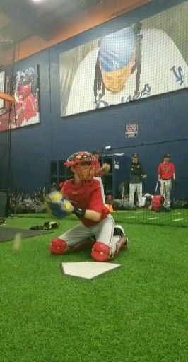 Photo of Youth Prospect U Catcher getting in the Reps 💪🔥