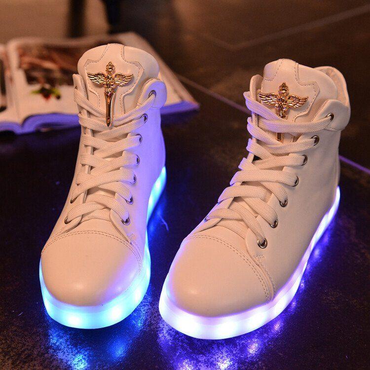 cfe5155f61f Hot sale! Colorful led light up platform shoes flashing sneakers from Cute  Kawaii {harajuku fashion