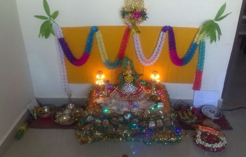 Pooja Room Decoration Ideas For Varalakshmi Pooja Decoration Pinterest Decoration And Room