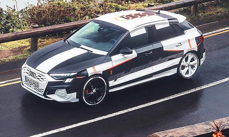 Neuer Audi S3 Sportback 2020 Erste Testfahrt Autozeitung De In 2020 Audi A3 Limousine Audi A3 Sportback Audi