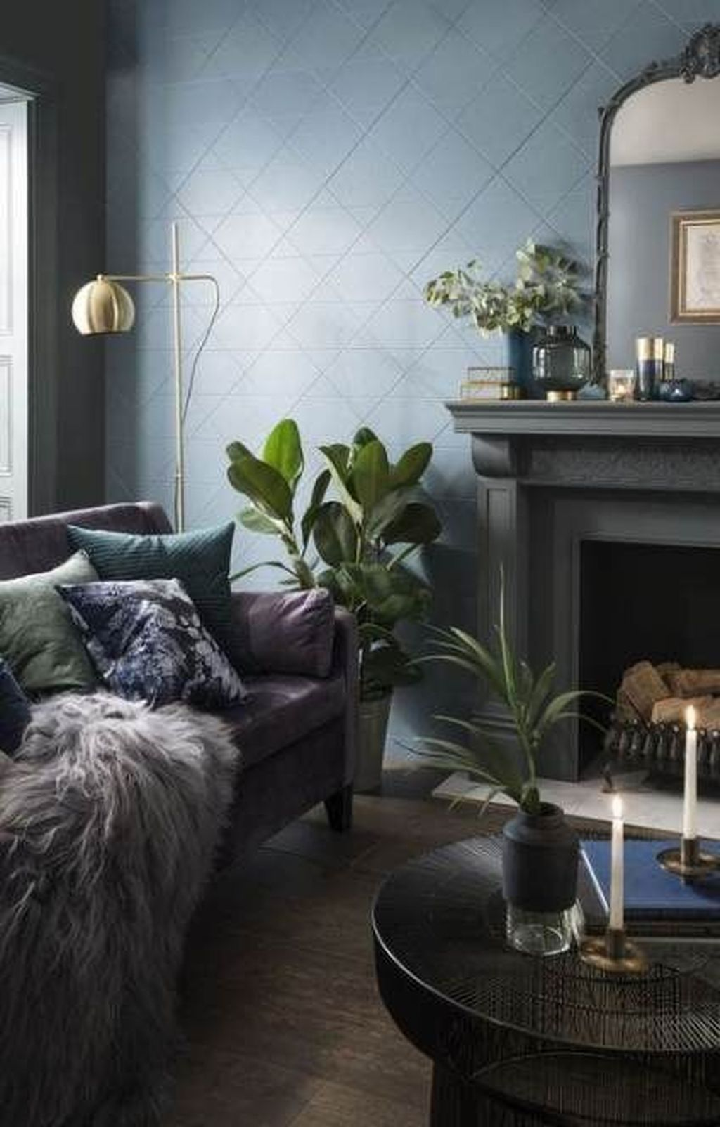 40 Awesome Living Room Green And Purple Interior Color Ideas Page 19 Of 42 Best Living In 2020 Living Room Decor Purple Living Room Decor Colors Living Room Green #purple #and #green #living #room