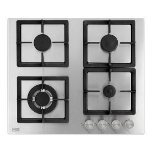 Cooke Lewis Clgss 60 4 Burner Cast Iron Stainless Steel