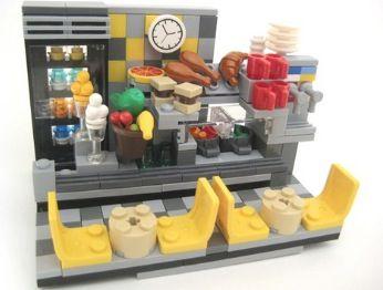 Lego restaurant