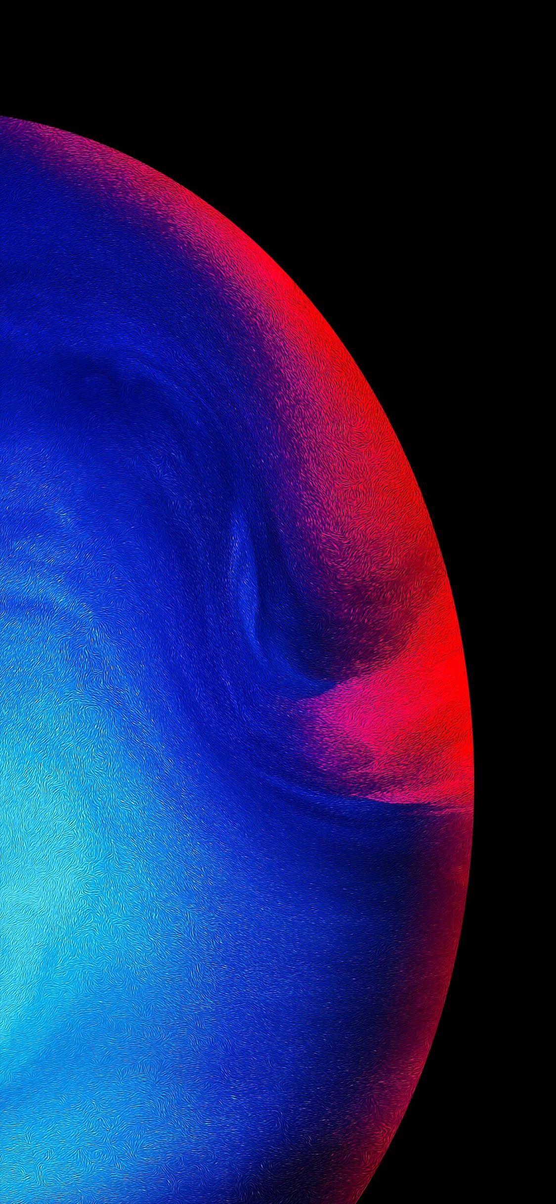 Moon Neptune iPhone X Wallpapers iphonexwallpaperfullhd