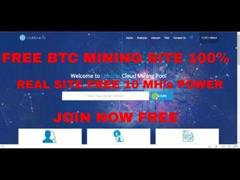 New Auto LiteCoin Mining|(Free Bonus 10 Mh/s HashPower)|Free Earn