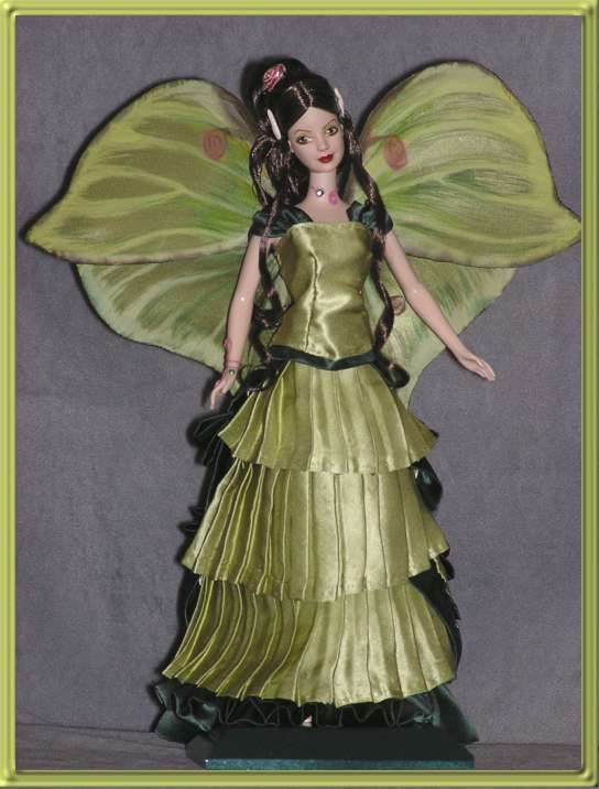 Luna - Victorian Fae - OOAK fashion dolls by VALKYRIE