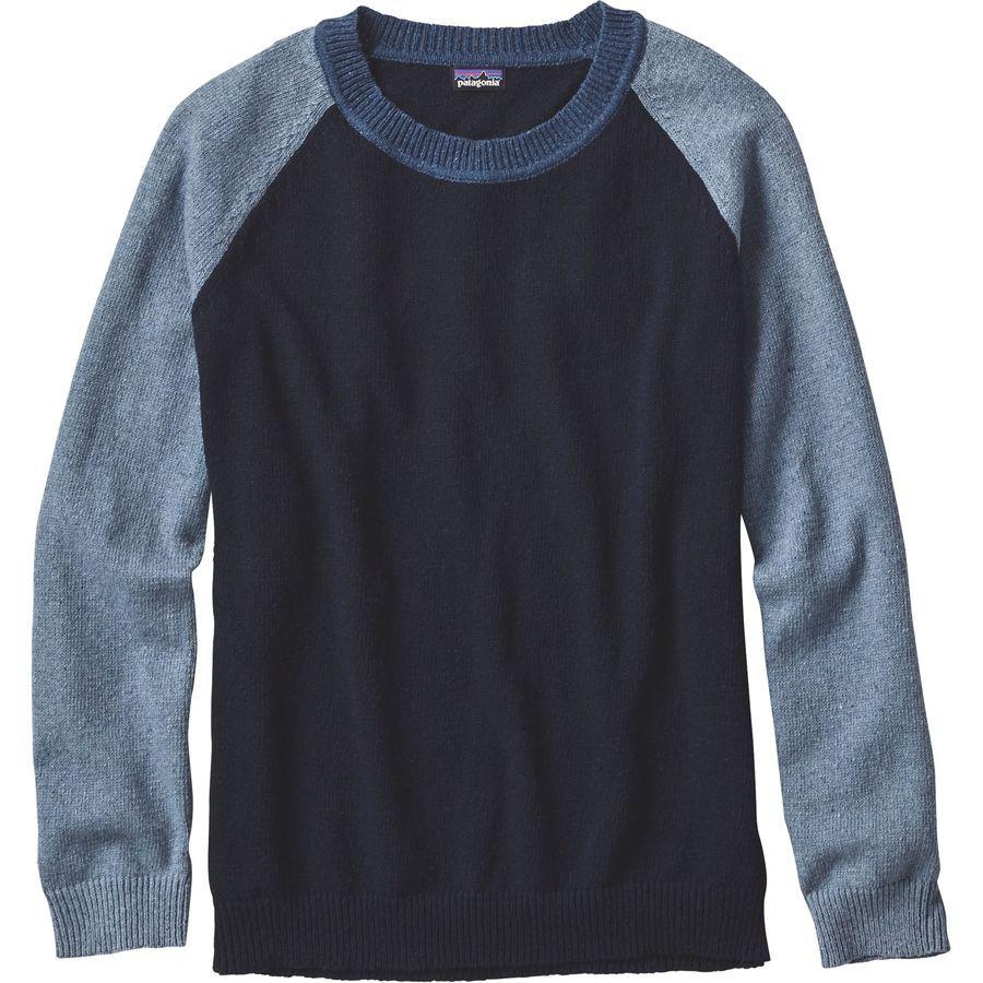 Patagonia Loislee Crew Sweater - Women's | Patagonia, Navy blue ...