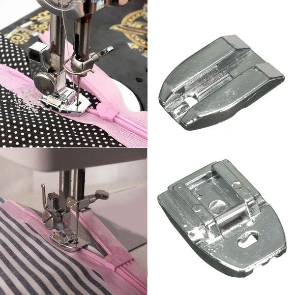 Invisible Zipper Presser Foot Sewing Machine Presser Foot Sewing Amazing Sewing Machine Accessories Online