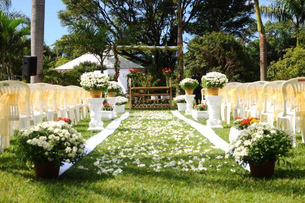 Casamento real e econ u00f4mico De manha, Sitio e Minas gerais -> Decoração Para Festa De Casamento Em Sitio A Noite