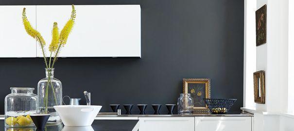 deco cuisine peinture couleur. Black Bedroom Furniture Sets. Home Design Ideas
