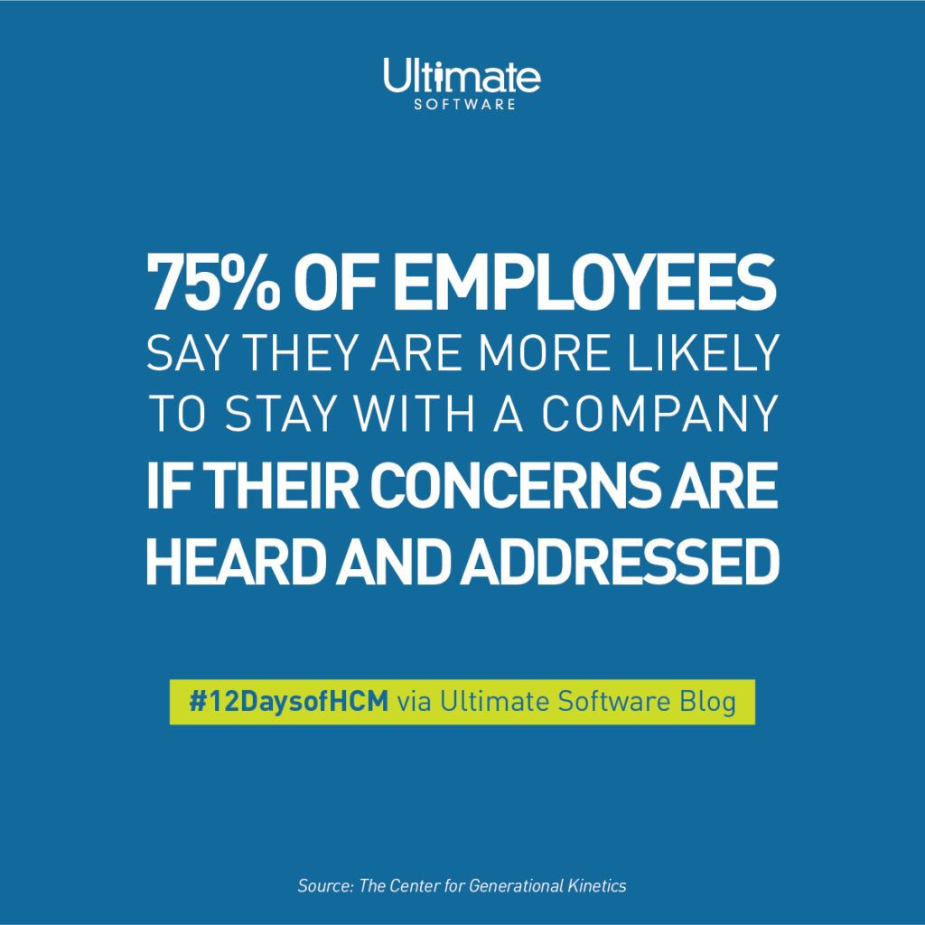 The Need For Organizations To Actively Listen To Their People Is At An All Time High With Three Quarters Of Amer Employee Feedback Employee Retention Employee