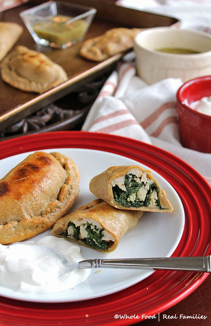Whole Wheat Chicken And Kale Empanadas Recipe Low Calories