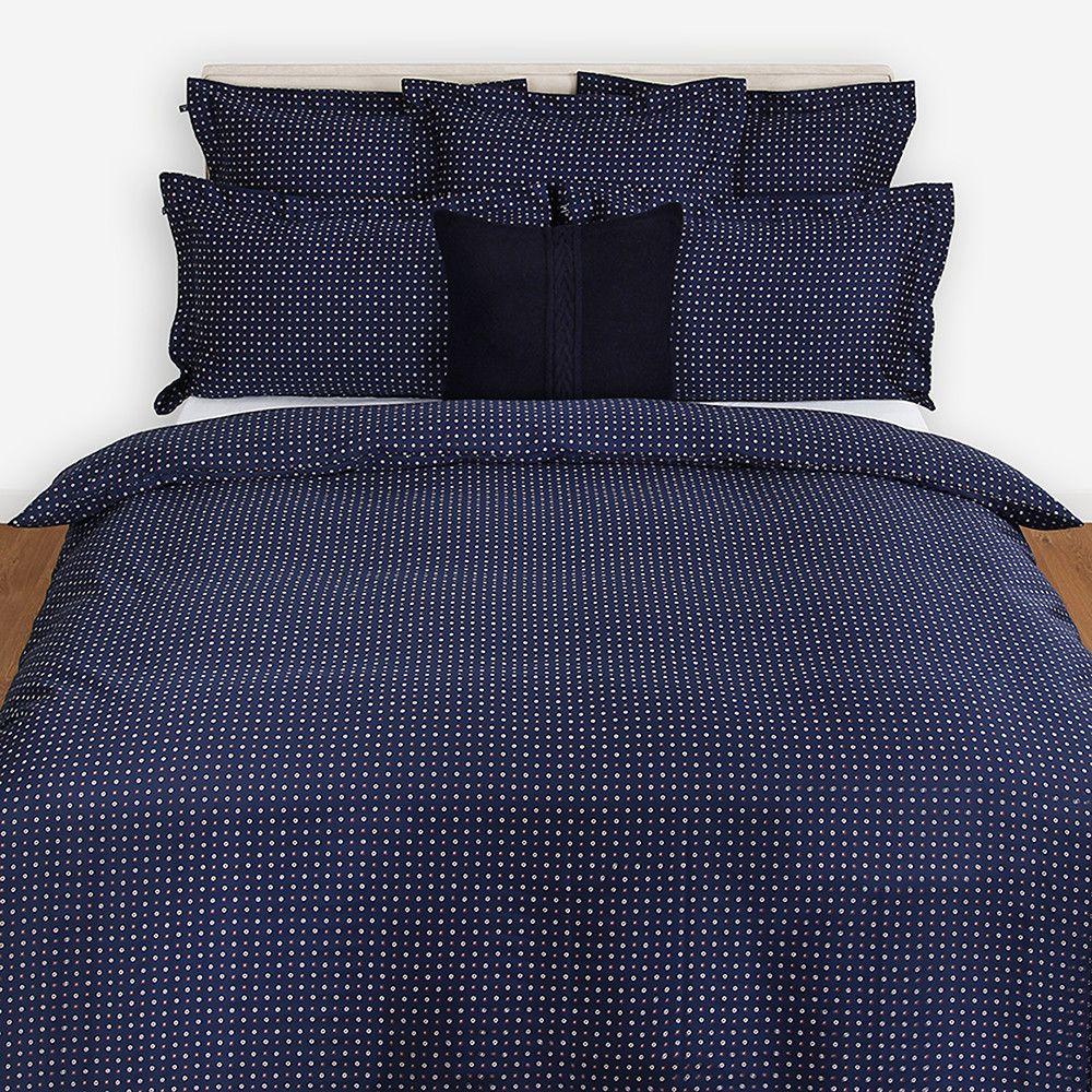 Dark blue bedding - Discover The Gant City Flower Duvet Cover Navy Super King At Amara