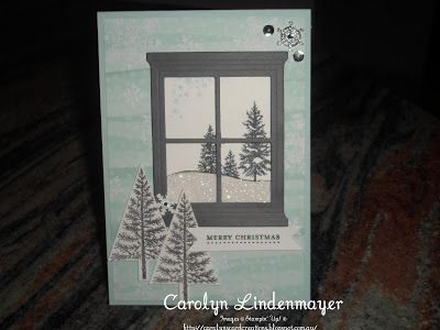 Carolyn's Card Creations: Paper Craft Crew Card Sketch challenge #165