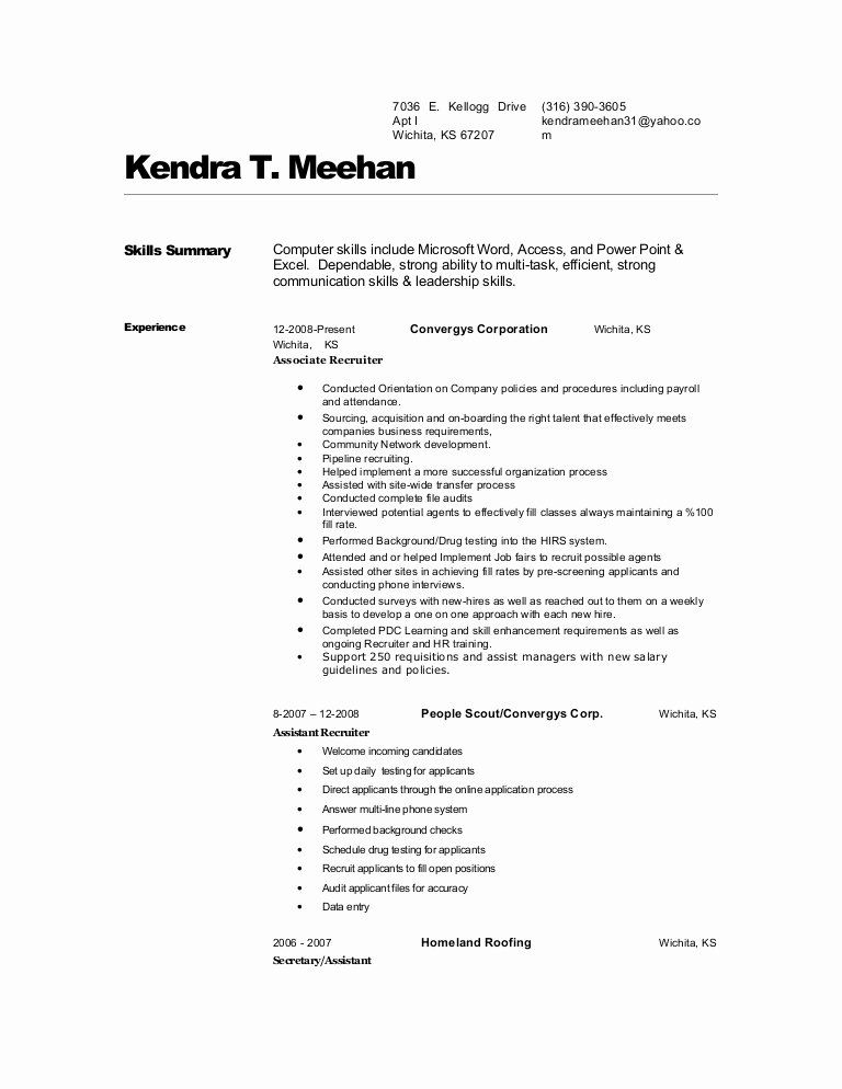 Surgical Technician Resume Examples New Surgical Tech