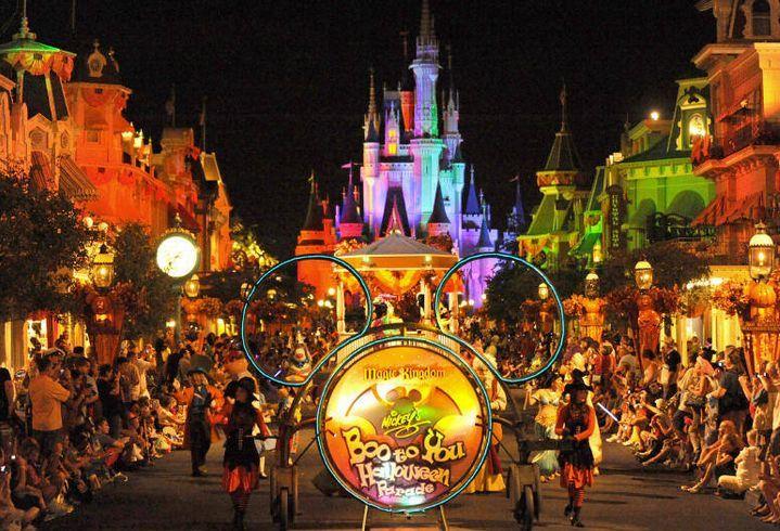california disney halloween parades - Disneyland Hours Halloween