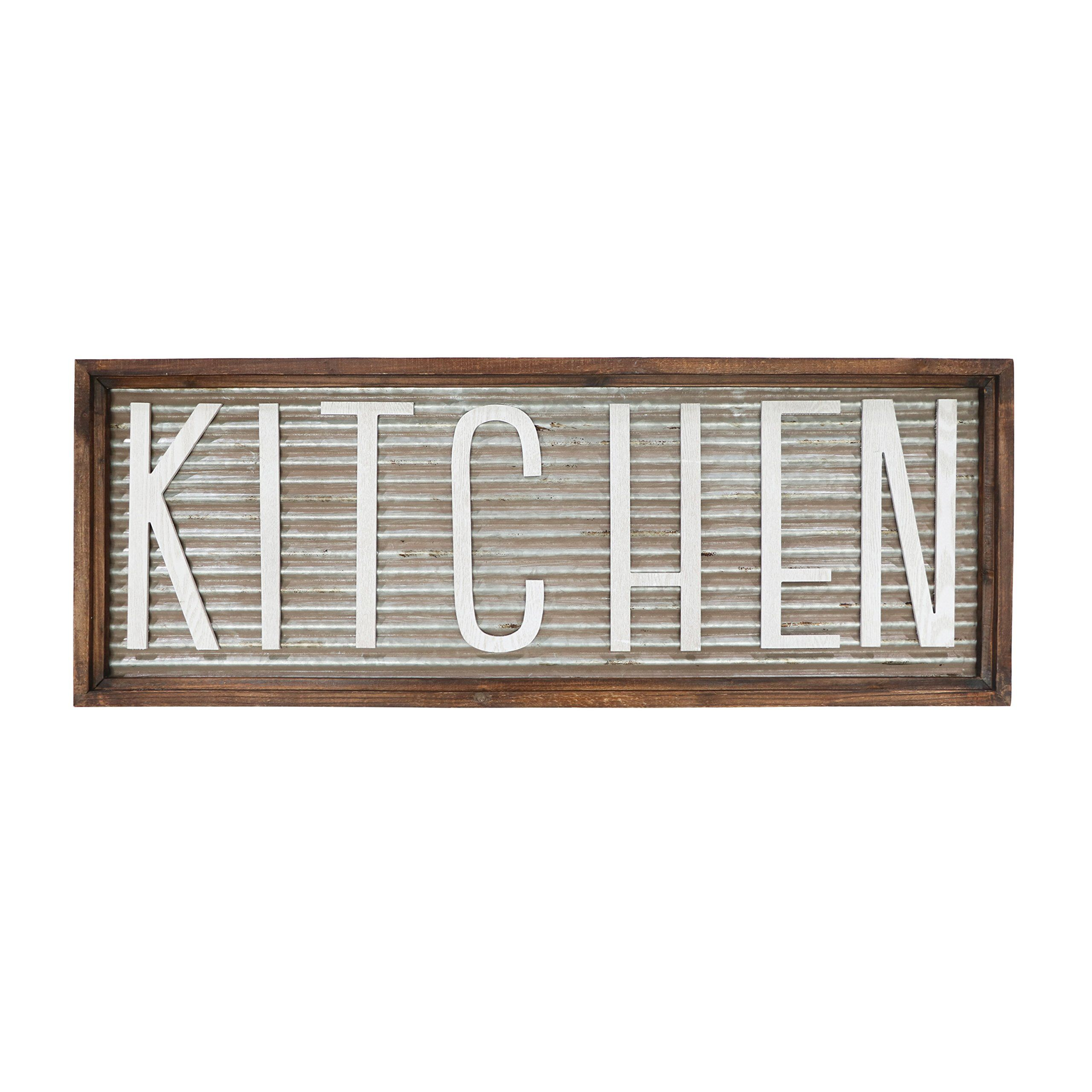 Barnyard Designs Kitchen Wall Decor Sign Rustic Vintage Farmhouse Country Decoration For Kitc Kitchen Wall Decor Kitchen Decor Wall Art Country Farmhouse Decor