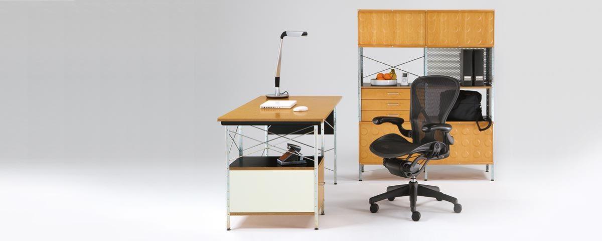 Eames Desk And Storage Unit Storage Cabinet Herman Miller Storage Furniture Design Eames Desk Desk Storage