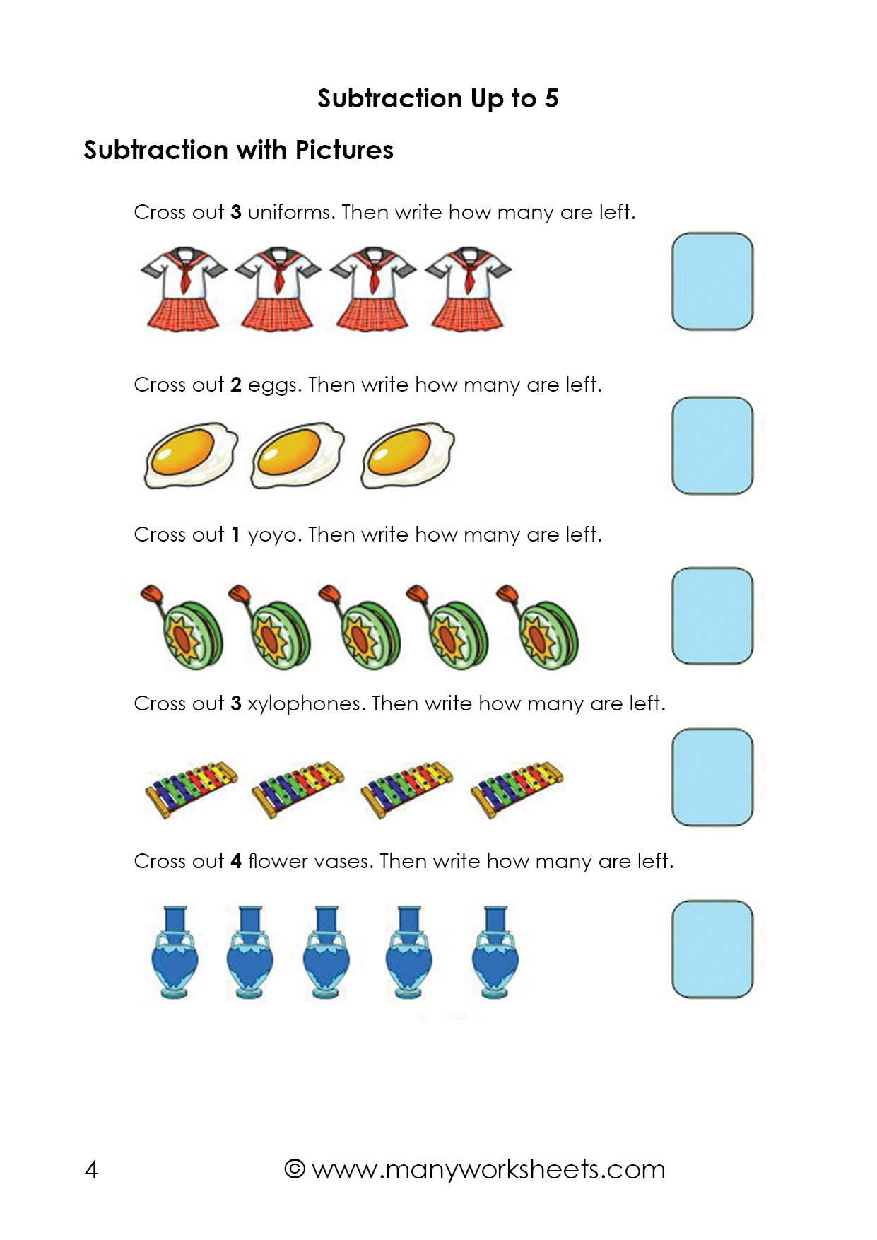 Capacity Worksheets For Kindergarten