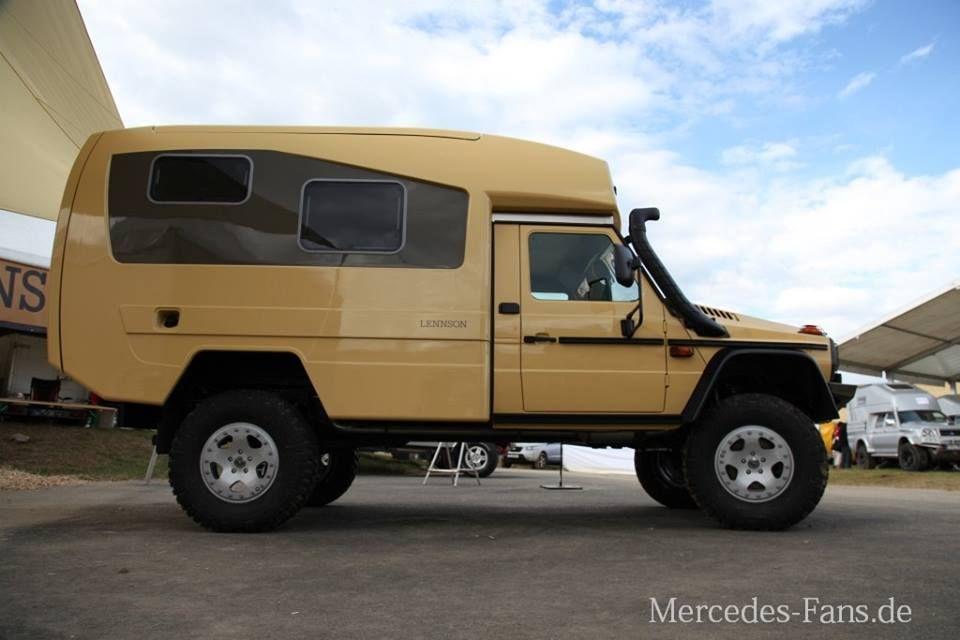 Lennson 3c Der Offroad Camper Fernreisemobil Auf Mercedes Benz G 300 CDI