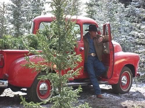 george strait christmas truck
