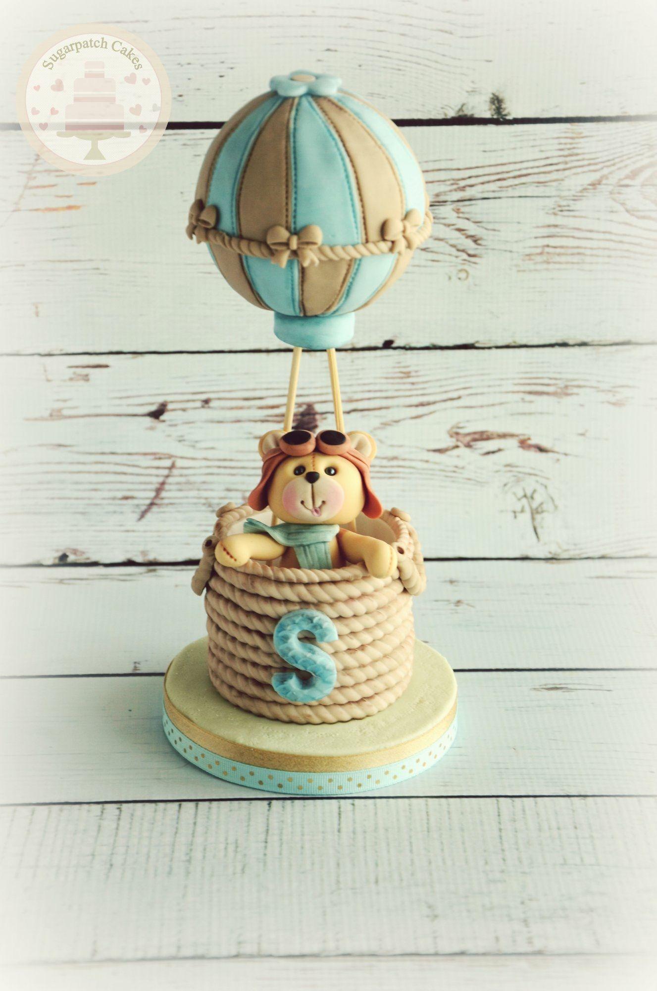 Hot Air Balloon Cake Topper Baby Shower Centerpiece Baby Shower Cake Topper First Birthday Cake Topper Con Imagenes Adornos Para Tortas Disenos De Tortas Tortas Para Ninos