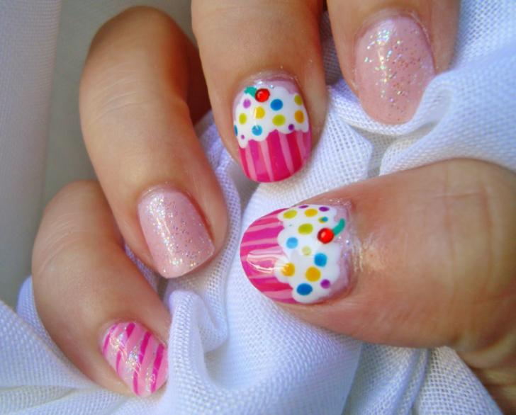 uñas decoradas para niñas faciles   uñas   Pinterest   Uñas ...