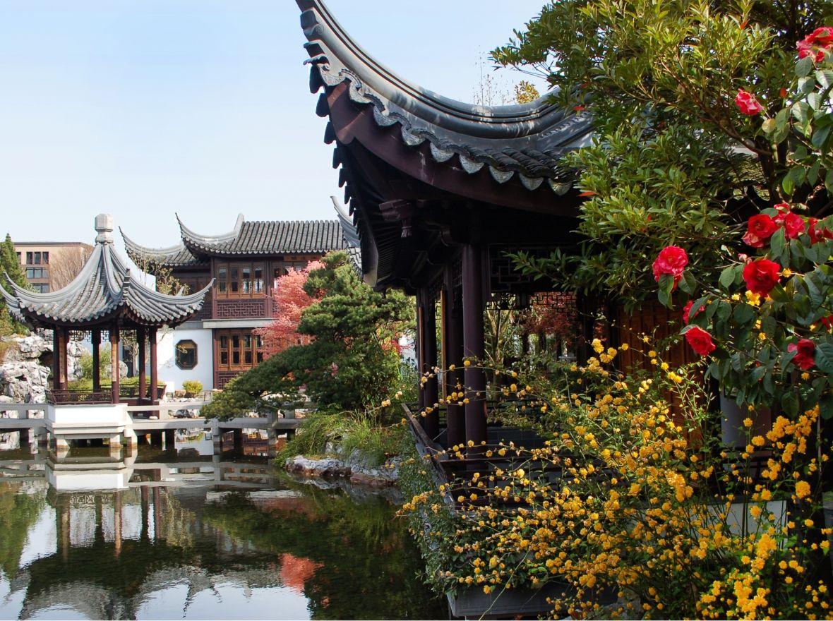 Lan Su Gardens Chinese garden, Oregon coast vacation