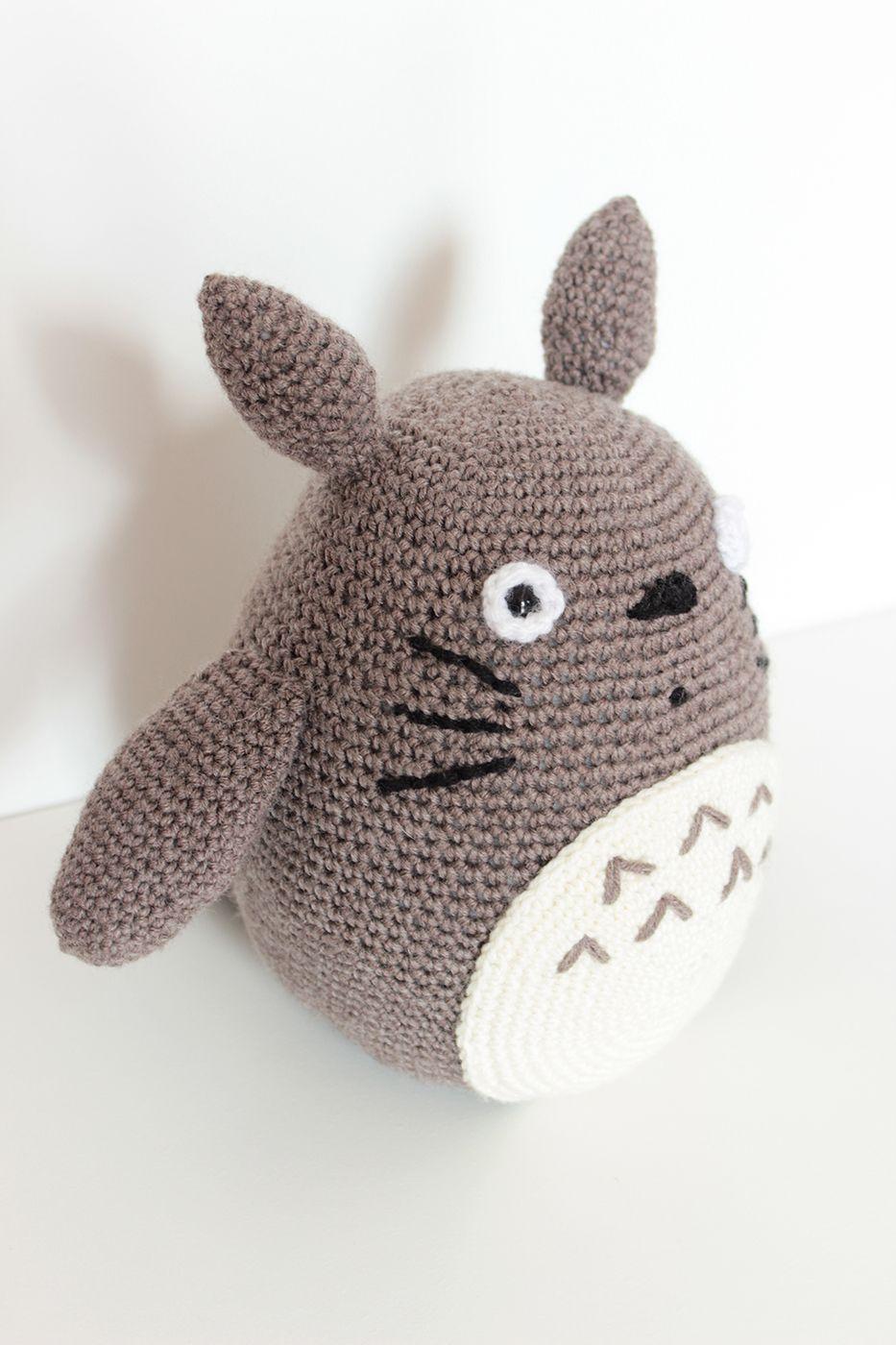 DIY Mein Nachbar Totoro Amigurumi Häkelanleitung   Amigurumi ...