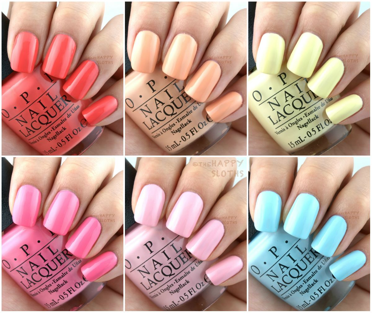 OPI Retro Summer 2016 Collection: Review and Swatches | Retro summer ...