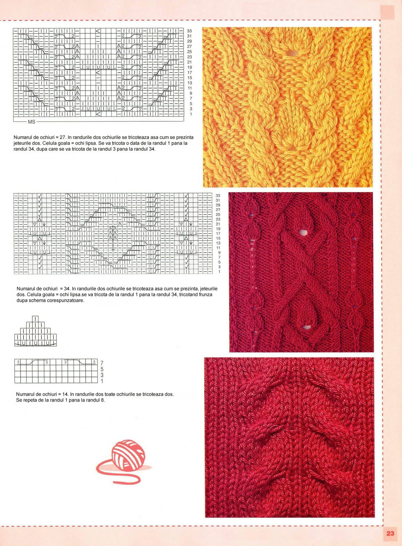 78 Modele de tricotat | Puntadas y Tejido