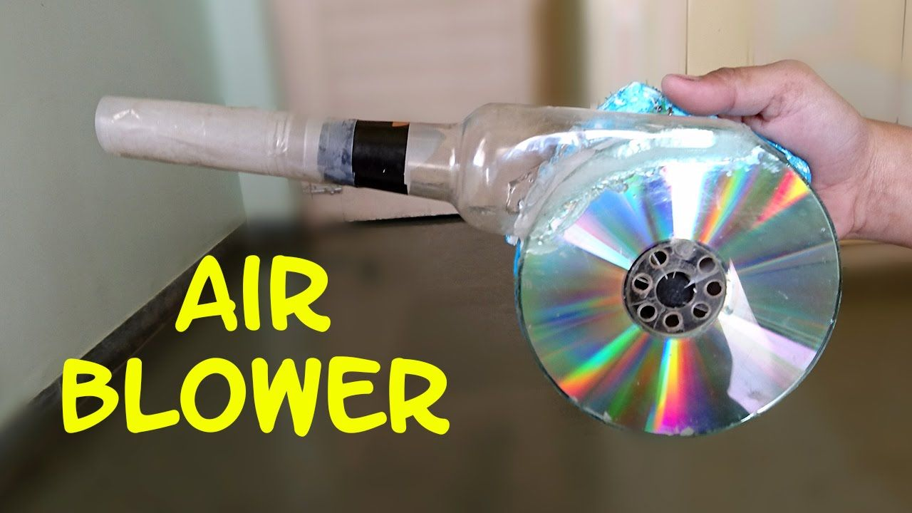 Recycling Plastic Blower : Diy learn how to make a air blower at home it required