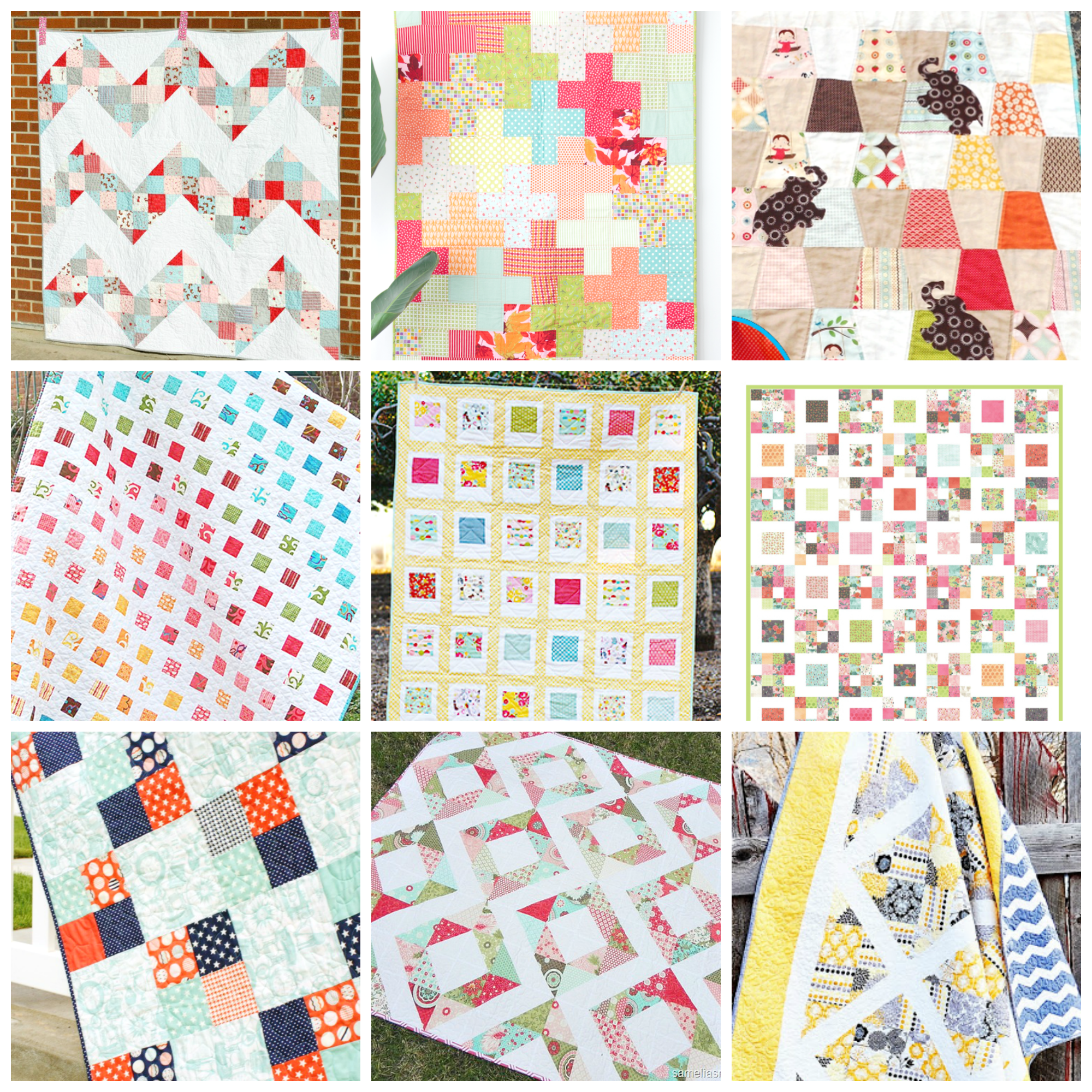 Free Quilt Patterns using Charm Packs! | SEWING TUTORIALS - HOME ... : charm quilt - Adamdwight.com
