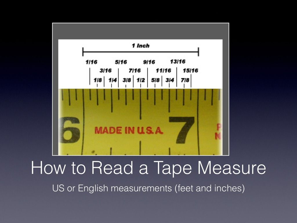 worksheet How To Read A Tape Measure how to read a tape measure mere pinterest