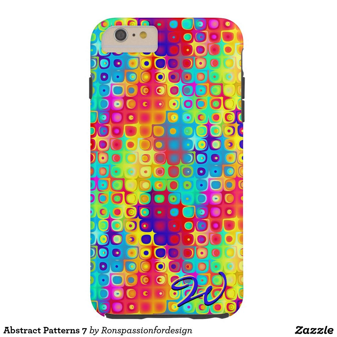 Abstract Patterns 7 Tough iPhone 6 Plus Case