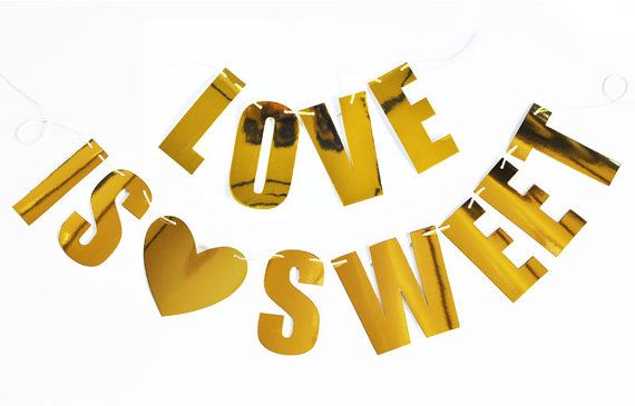 Personalized Letter Garland Foil Letters Birthdays Anniversary