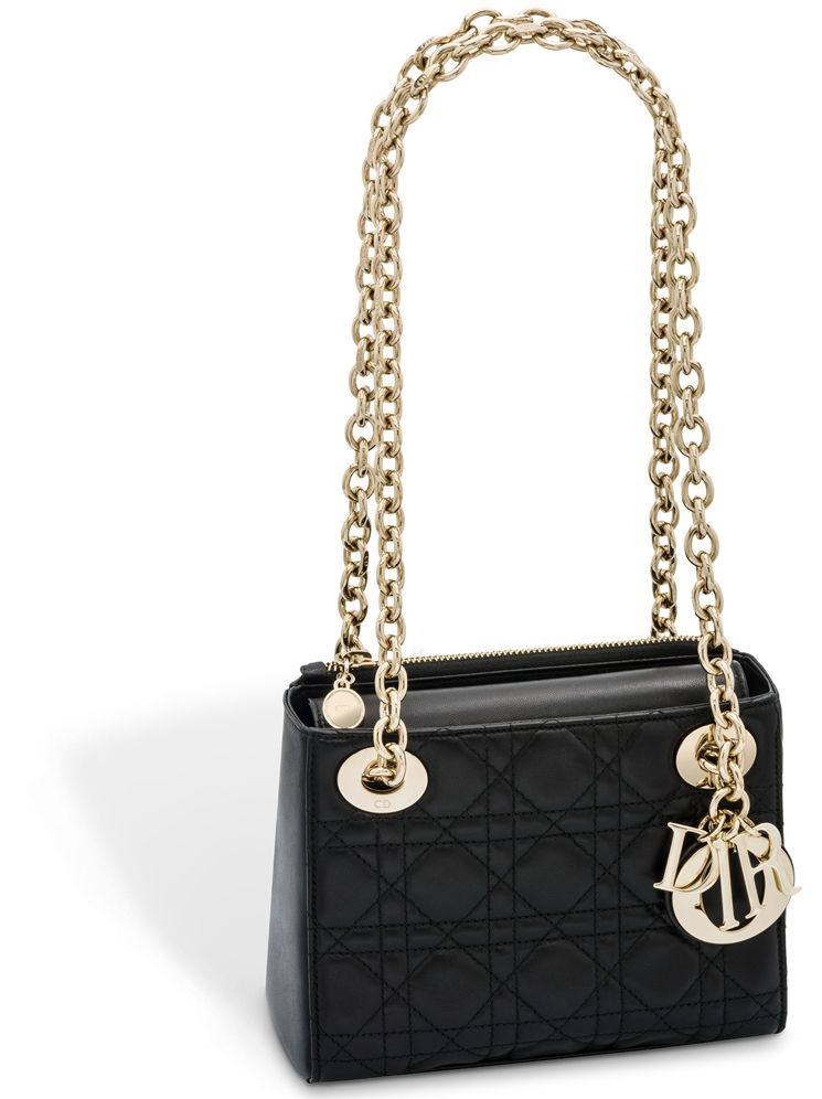 b2947b8f82 Lady Dior Bag with Double Chain | bags| Dior | Lady dior, Dior, Bags