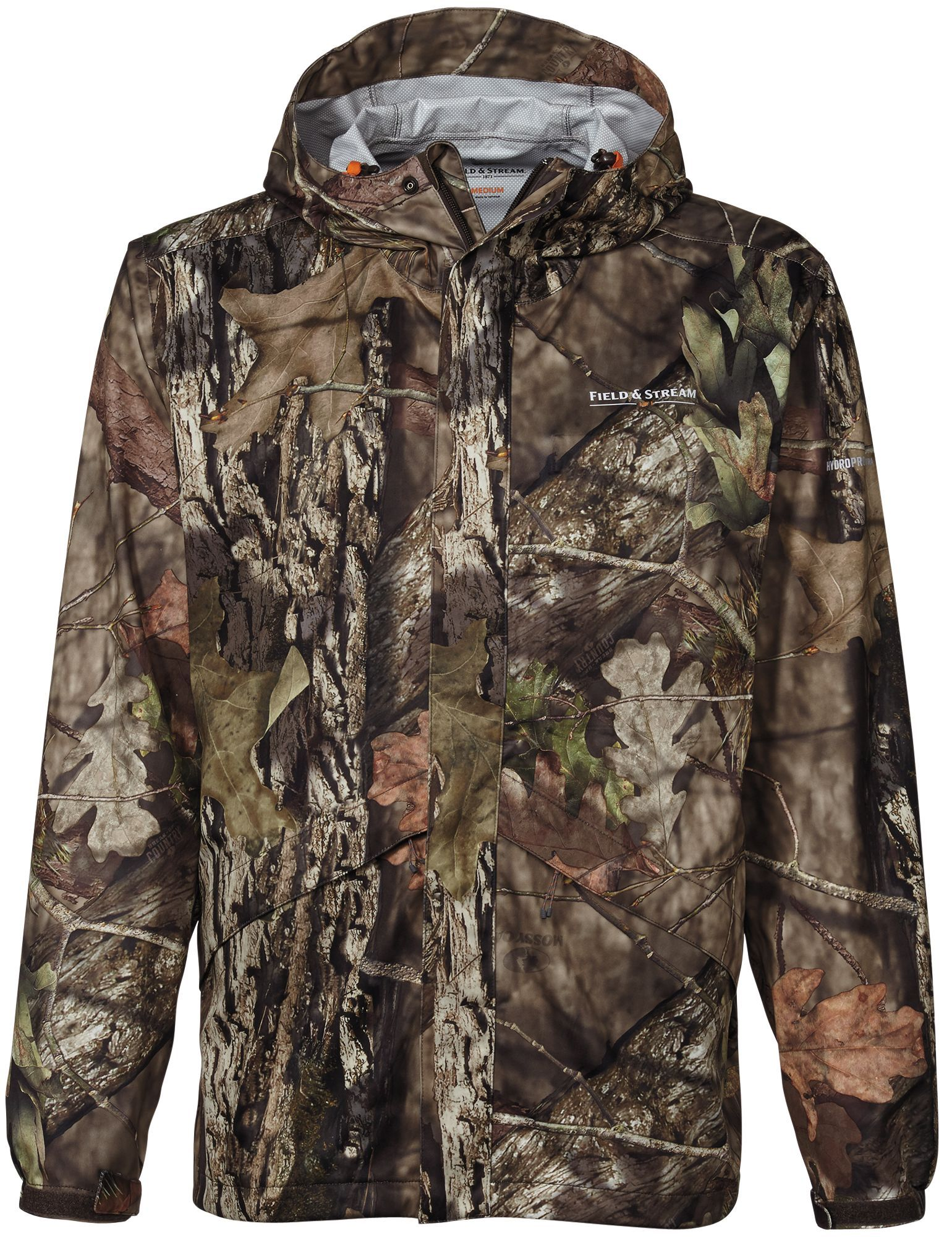 276cd944cb898 Field & Stream Lightweight Packable Rain Hunting Jacket, Men's, Size: XXL,  Mossy Oak Brk-Up Country