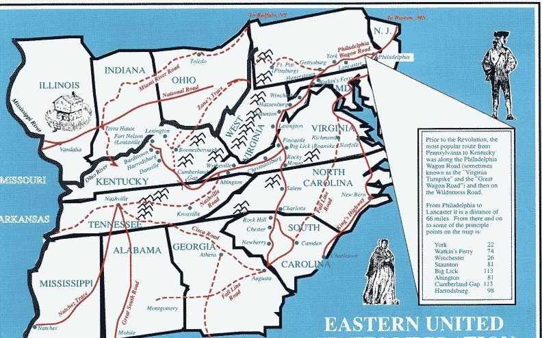 Early Trails Of Eastern US Google Search History Pinterest - Google maps eastern us